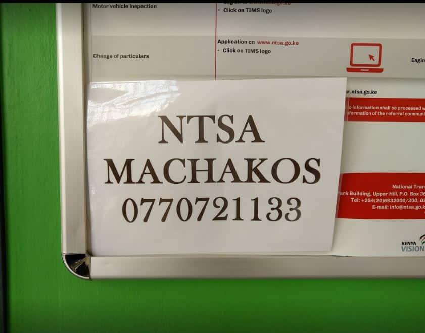 Machakos vehicle inspection